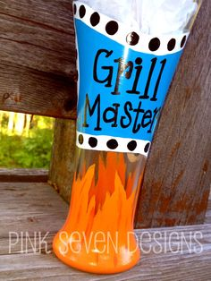 GRiLL MASTER Beer Pilsner by pinksevendesigns on Etsy, $18.00