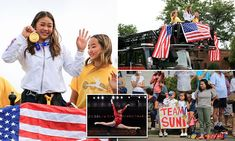 All Around Gymnastics, Hmong People, Victory Parade, Hometown Heroes, Simone Biles, Interesting Stories, Olympic Champion, National Championship, Olympians
