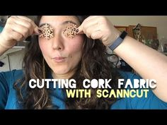 Cork Fabric, sometimes called Cork Leather, is so fun to cut with your ScanNCut. It's different from regular cork because it doesn't crumble or crack or brea. Diy Earrings, Leather Earrings, Brother Scanncut2, Cork Fabric, Scan N Cut, Brother Scan And Cut, Creative Kids, Sewing Hacks, Cricut