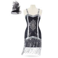 Fabulous Flapper Dress Ensemble