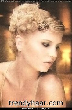 14 best Retro Hairstyles images on Pinterest   Hair dos  1920s style     Wunderbare Kurzes Haar Abschlussball Stile   Trend 2015 Check more at  http