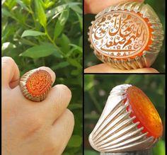 عقيق يماني برتقالي