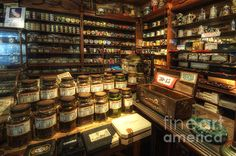 This is what a pipe and tobacco shop should look like.