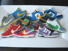 Nike shoe cookie | nike sneaker shoe sugar cookies