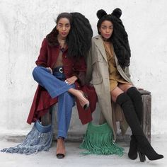 textures and colors // sisters Cipriana and TK Fall Fashion 2016, Autumn Winter Fashion, Fashion Show, Girl Fashion, Fashion Outfits, Womens Fashion, Fashion Ideas, Quann Sisters, Fashion Instagram Accounts