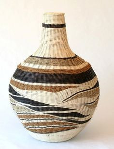 Hand-dyed and natural reed, coir and seagrass cord