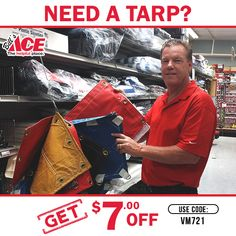 Need a #Tarp? Did you know we can custom order ANY size! Click here: #billsacehardware #tarp #discounts   Get $7 off With Coupon Code VM721