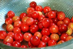 Cherry bath time Bath Time, Are You Happy, Cherry, Make It Yourself, Colour, Vegetables, Food, Color, Essen