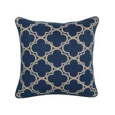 Rachel Navy Pillow