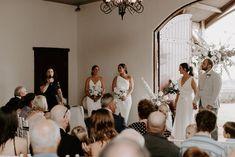 Rachel loves Chris | White Wedding in the Hinterland - The Bride's Tree Wedding Trends, Wedding Styles, Friend Wedding, Wedding Day, Marriage Celebrant, We Get Married, Bridesmaid Dress Colors, Birthday Weekend, Amazing Flowers