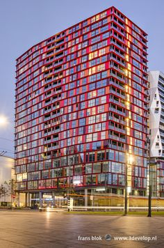Rotterdam Netherlands, Holland Netherlands, Blue Hour, Condominium, Amsterdam, Skyscraper, Stock Photos, City, World