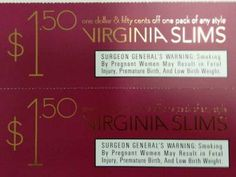 Marlboro cigarette coupons two $1.50 off a pack - Image on imgED Free Coupons Online, Free Coupons By Mail, Cigarette Coupons Free Printable, Free Printable Coupons, Print Coupons, Newport Cigarettes, Virginia Slims, Marlboro Cigarette, Image
