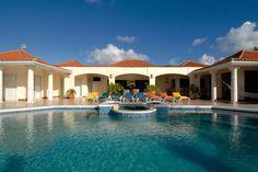 Enjoy the heated pool and spa on the spacious terrace overlooking Plum Bay Beach and the sumptuous setting sun. Giselle Villa in St. Martin: http://www.villasofdistinction.com/villas/st-martin/giselle/  #Caribbean #luxuryvillas #villarentals