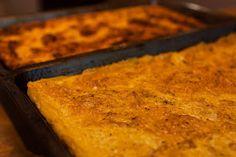 Street Food, Cuisine du Monde: Recette de la calentica galette arabe à la farine de pois chiche (Algérie)