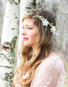 bridal hair accessories, wedding headpiece, woodland flower, bridal hair flower, rustic wedding.