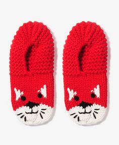 Knit Kitten Slippers #forever21 #giftspiration