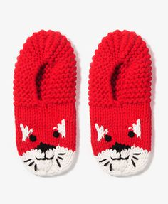 Knit Kitten Slippers #forever21 #giftspiration