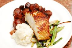 Black cod with balsamic-shallot sauce and mashed potatoes by JuliasAlbum.com, via Flickr (Use Gluten Free Soy Sauce if you need to be GF)