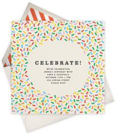 Paperless Post - Sprinkles - Celebrate