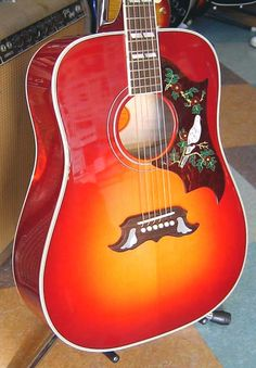 Gibson dove just like this one. My dream Guitar!