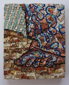 "Contemporary Style Mosaic. CONCEPT BY: Conrad Botes ""The Wayfarer"" (Sample)"