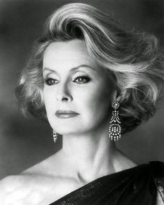 Dina Merrill. I wish Mom had let me do her makeup again and get her hair styled like this. She would have looked even more stunning with a more modern approach!
