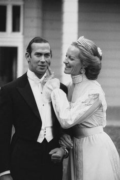 Prince Michael of Kent and Baroness Marie Christine von Reibnitz July 3, 1978