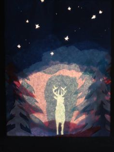 Expecto Patronum Papercut by pottermouth