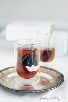 Teatime Gläser mit Teeei von räder