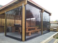 Whilst early throughout notion, the pergola has become encountering somewhat of a modern day rebirth Backyard Patio Designs, Backyard Pergola, Pergola Designs, Backyard Landscaping, Pergola Kits, Outdoor Curtains For Patio, Outdoor Blinds, Porch Curtains, Bache Pergola
