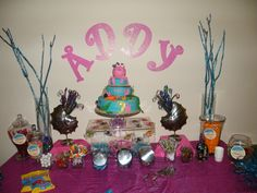 Under The Sea 1st Birthday Celebration