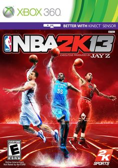 Gift Ideas for Boys ~ My boys love playing a fun video game together.  They especially love when they can get their dad involved.  Their current fave, NBA 2K13.