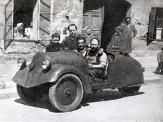 Vogl Hungarian Three Wheeler