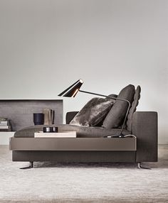 #living room furniture #sofa #contemporary - White by Minotti