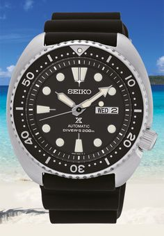 Seiko Automatic Diver SRP777K1 Turtle Prospex - a re-issue of the 6309 to be released in January 2016 for ~$450. Features Caliber 4R36 with a 41 hour power reserve. Available in 4 different models.
