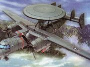 Northrop Grumman E-2C Hawkeye Free Aircraft Paper Model Download