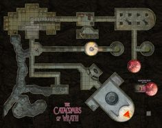 The Catacombs of Wrath by hero339.deviantart.com on @DeviantArt