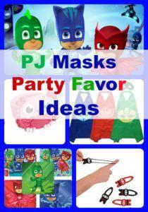 PJ Masks Birthday Party Favor Ideas - 10 budget friendly ideas for PJ Masks themed party favors - BirthdayBuzzin.com