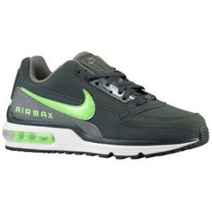 Nike Air Max LTD - Men's - Black Spruce/Flash Lime/Mercury Grey/White