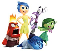 Disney Inside out Story : Release Date: June 2015 Studio: Disney Pixar Genre: Animation, Comedy, Fantasy Growing up can be a bumpy road, and it's no exce Disney Inside Out, Movie Inside Out, Inside Out Emotions, Inside Out Characters, Disney Kunst, Disney Art, Kopf Tattoo, Disney Cartoon Characters, Theme Background
