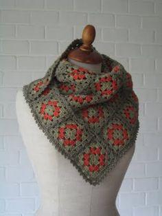 Julija's Shop...: Sjaal in Skinny cotton