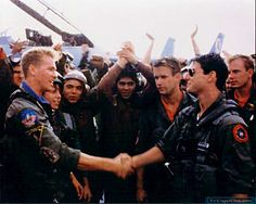 Top Gun - Publicity still of Tom Cruise, Val Kilmer, Rick Rossovich, Whip Hubley & Barry Tubb. The image measures 2500 * 1680 pixels and was added on 29 November Top Gun Film, Top Gun Movie, I Movie, Movie Stars, Movie Cast, Movie Theater, Val Kilmer, Tom Cruise, Film D'action