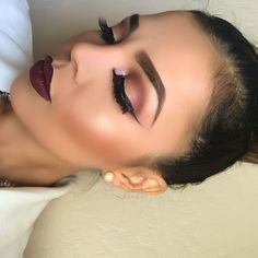 perfect brows and winged liner
