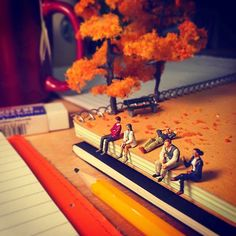 Agency Life: Photos by Derrick Lin #photography #miniature