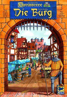 Carcassonne - Die Burg spielen: Carcassonne - Die Burg ist ein Spiel von Reiner Knizia und Klaus-Jürgen Wrede. Es ist eine spezielle Variante von Carcassonne für 2 Spieler.