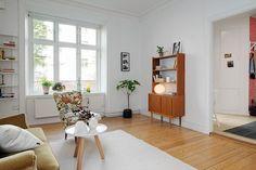 Decorando un monoambiente con muebles vintage 4
