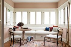 For client Jacey Duprie—mastermind of lifestyle brand Damsel in Dior—designer Martha Mulholland creates a refuge that's sophisticated and livable The Line Apartment, Farmhouse Style Furniture, Amber Interiors, Teak Table, Dining Table, Contemporary Sofa, Paint Colors For Home, Commercial Interiors, Architectural Digest
