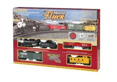 Bachmann Trains 00692 Union Pacific Flyer Freight Set HO Scale #electrictrainsets