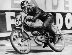 Beryl Swain, the first woman solo motorcyclist to finish in a TT race. | Clasp Garage