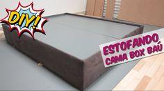 DIY - CAMA ESTOFADA| DECORAÇÃO QUARTO DE CASAL PEQUENO PARTE 4